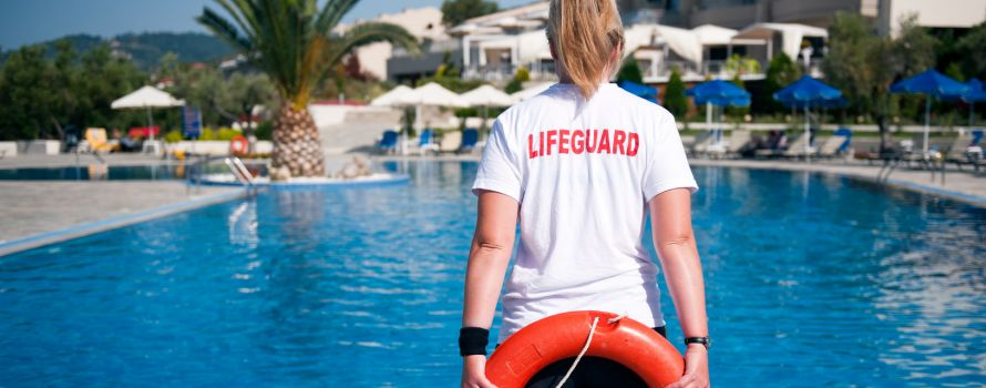 Auto Attendant Connects Lifeguards